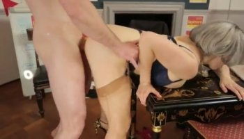 Girls are having fun pleasuring studs knob
