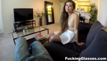 Juvenile sweetie deepthroats old lustful dude